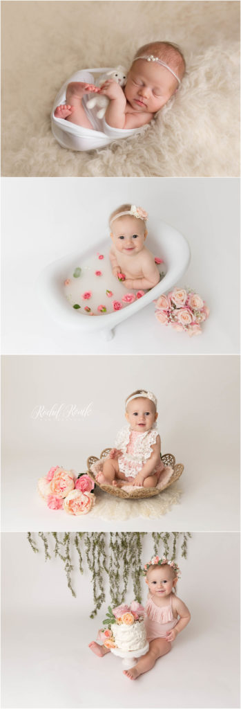 baby's first year photographed by Rochel Konik Photography